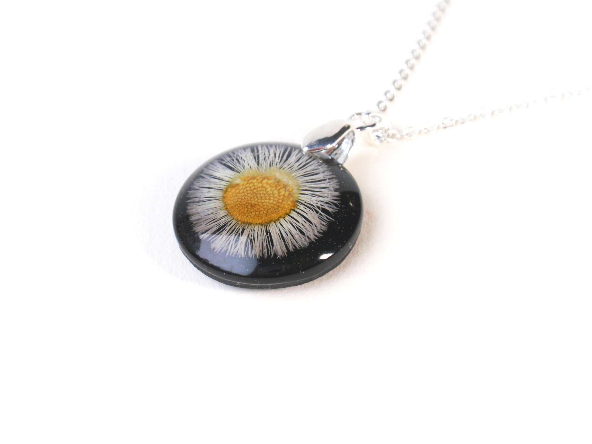 wild flower jewelry handmade necklace