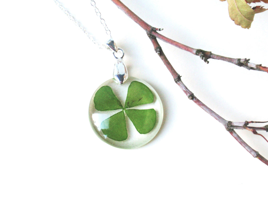 necklace online birthstone sterling clover personalized with sw leaf monogram silver swarovski