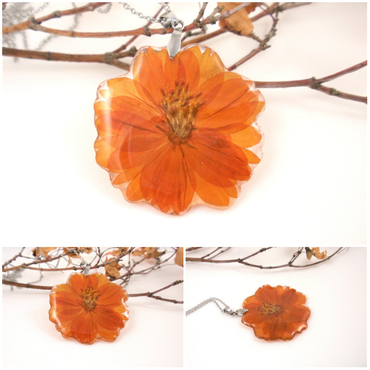 Botanical jewelry by Smile with Flower