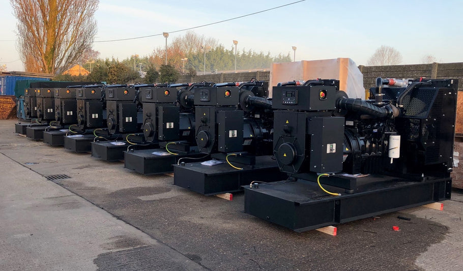 Welland Power Supply 8 x WP250 to Angola