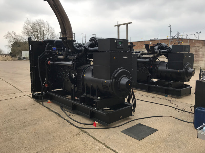 Diesel Generators Power Egyptian Water Pumping Station