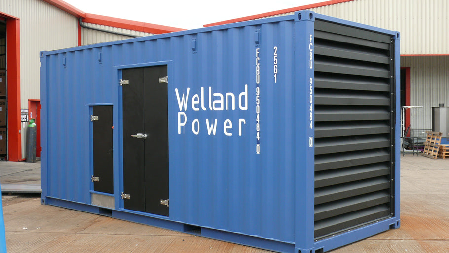 1000kVA Containerised Diesel generator For Algeria
