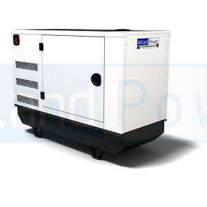 Welland Power WP20, 20kVA Canopied Diesel Generator powered by Perkins 404A-22G diesel engine