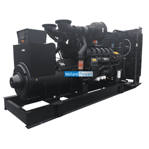 Welland Power WP1250, 1250kVA Open Diesel Generator powered by Perkins 4012-46TWG2A diesel engine