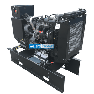 A Welland Power WP60 diesel generator Powered by a Perkins 1103A-33TG2 diesel engine.
