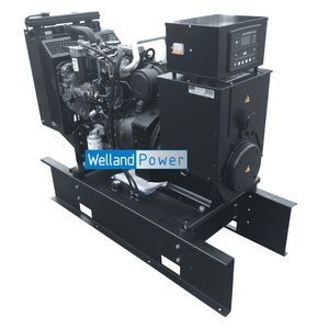 Welland Power WP60, 60kVA Open Diesel Generator powered by Perkins 1103A-33TG2 diesel engine Welland Power