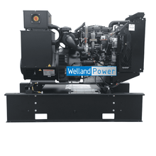Load image into Gallery viewer, Welland Power WP60, 60kVA Open Diesel Generator powered by Perkins 1103A-33TG2 diesel engine Welland Power