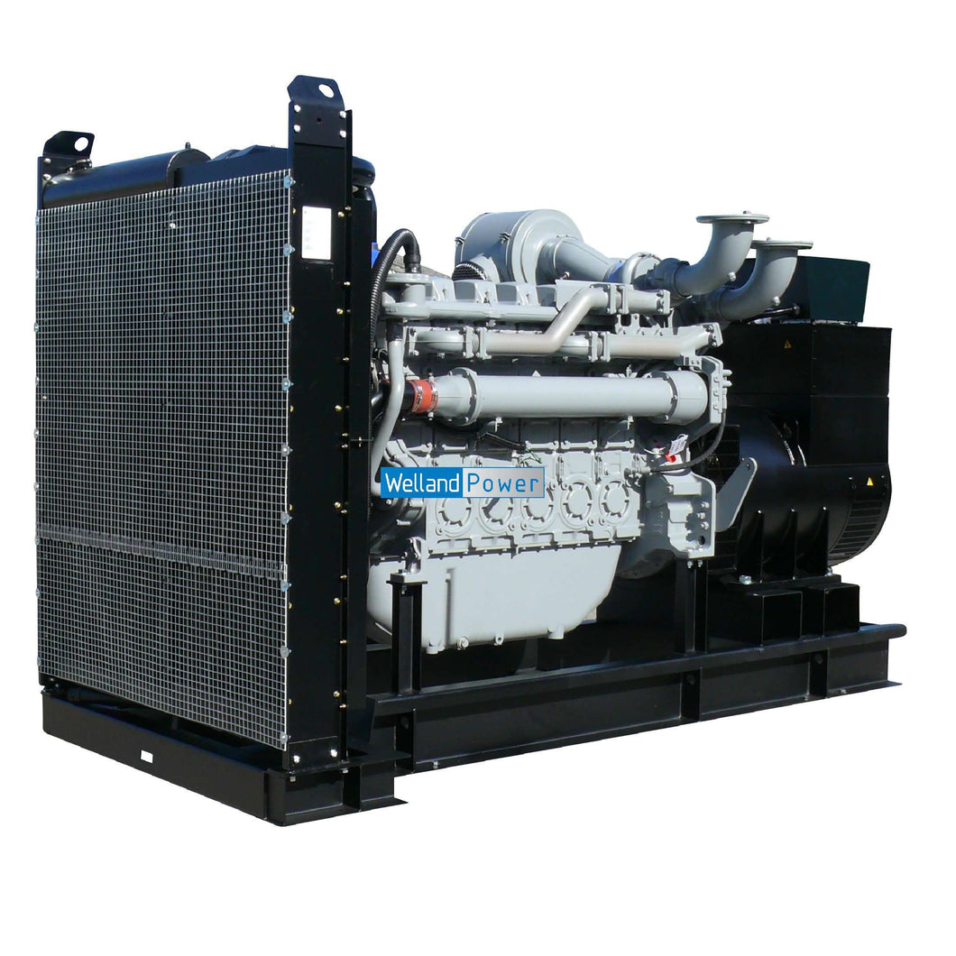 A Welland Power WP720 diesel generator Powered by a Perkins 4006-23TAG2A diesel engine.