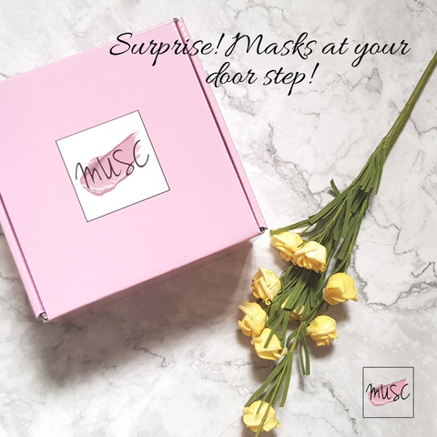 Masks Giftbox by MUSCBOX