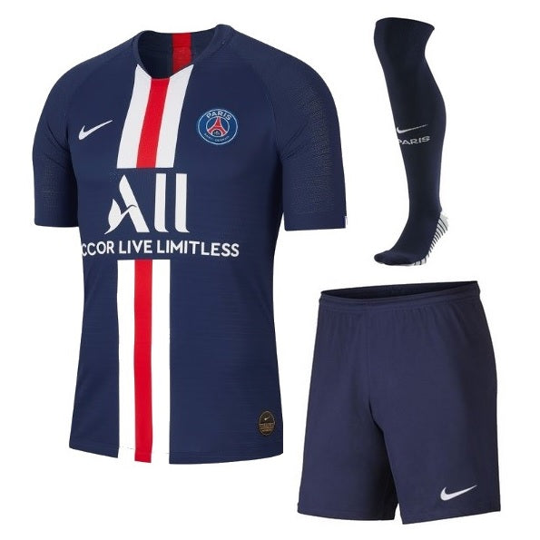 new arrival 8a6ee 7d3a2 PSG Home Whole Kit Soccer Jersey 2019-2020