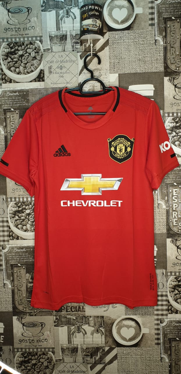 on sale 9e048 4d2dd Manchester United Home Jersey 2019-2020