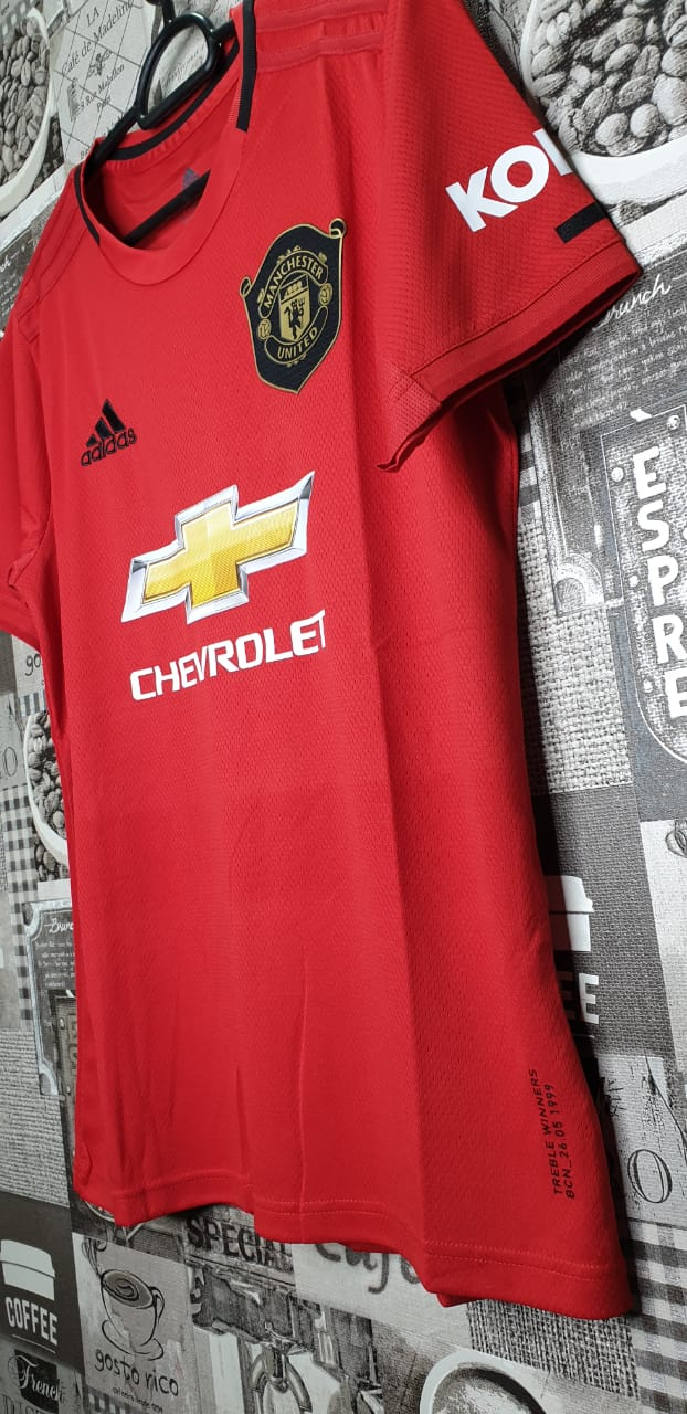 on sale a62d5 95c5f Manchester United Home Jersey 2019-2020