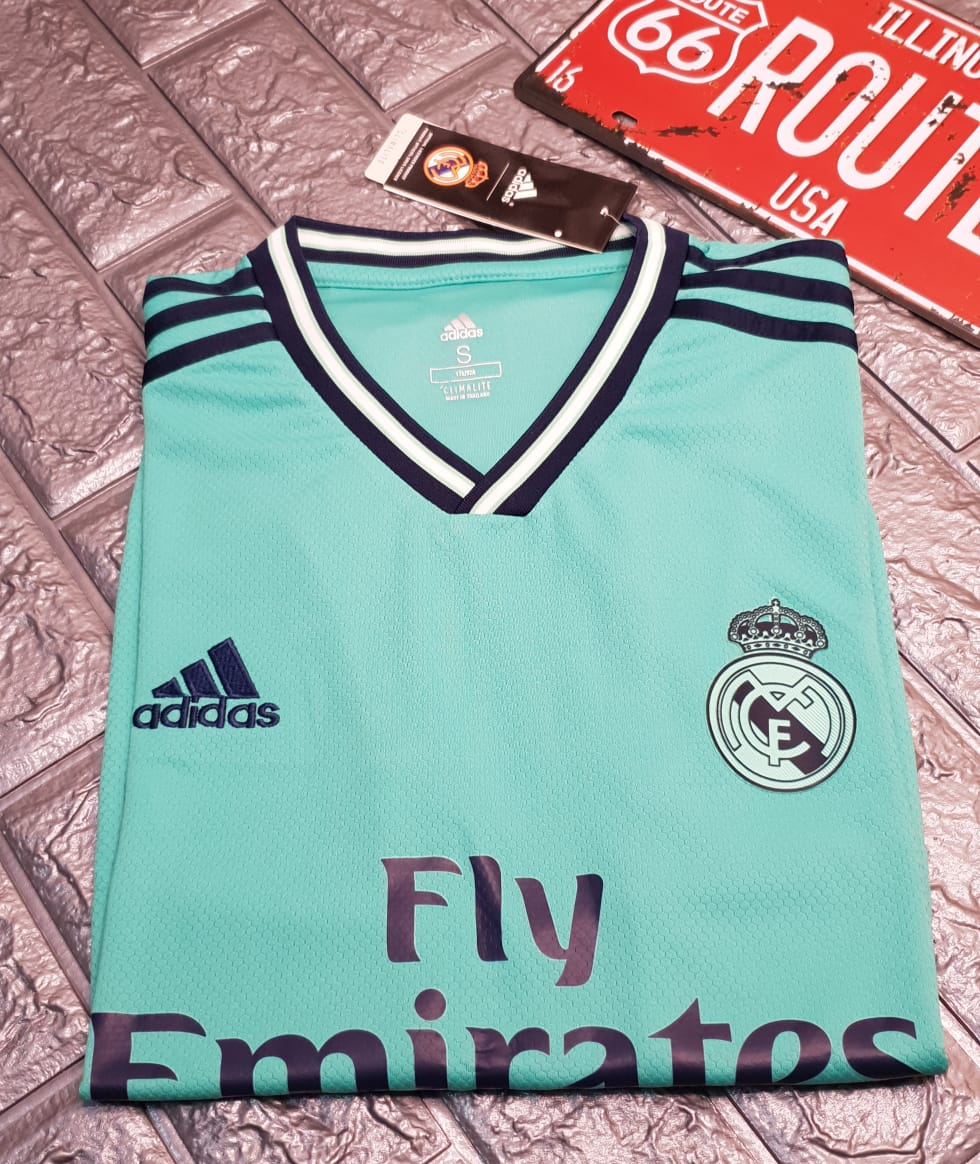 the best attitude 5b230 98d25 Real Madrid Third Jersey Cyan 2019/20