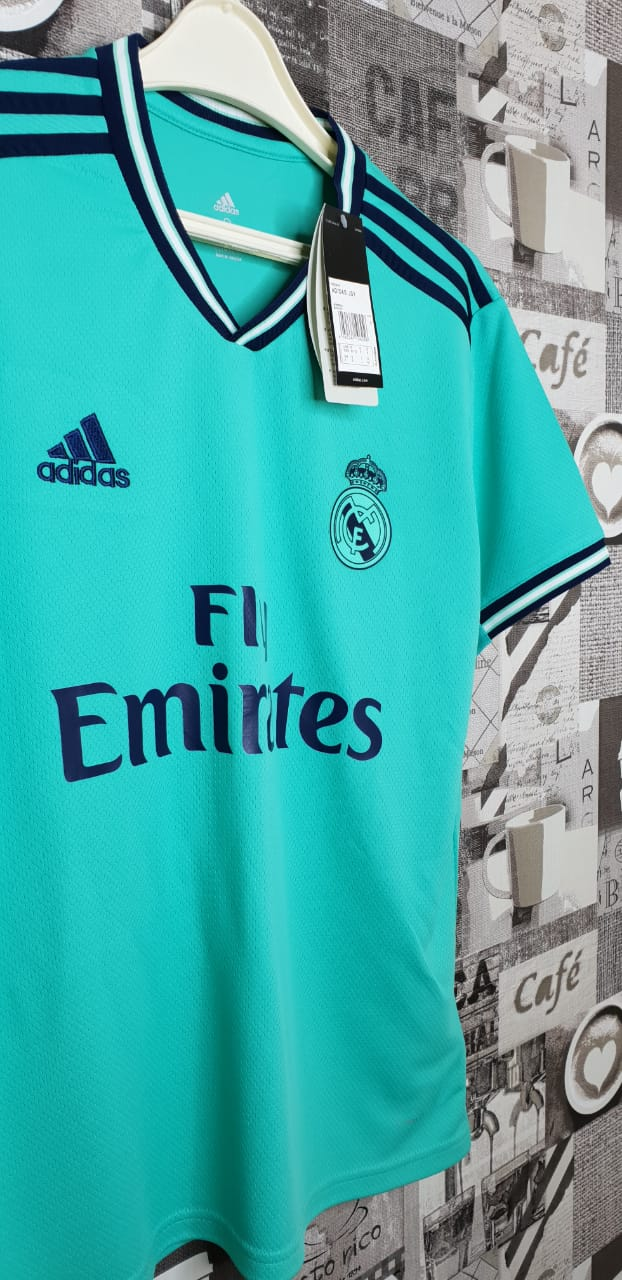 the best attitude 53146 0d99b Real Madrid Third Jersey Cyan 2019/20
