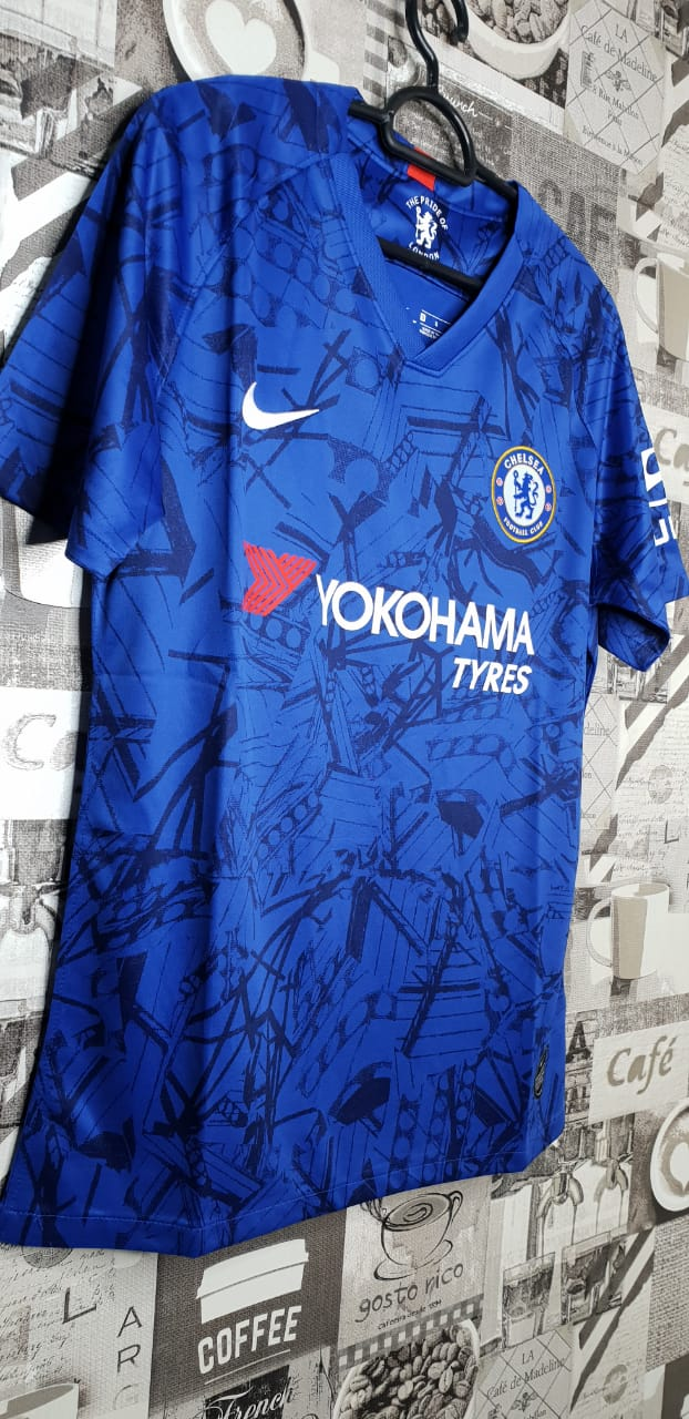 new style e42f7 cc22a Chelsea home jersey blue 2019/2020