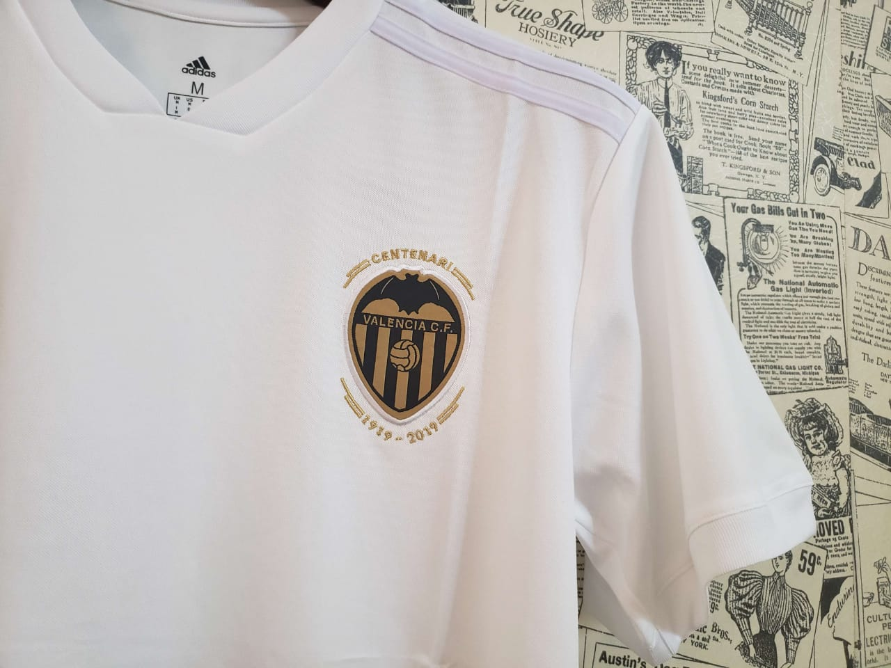 best loved 7ed30 690dc Valencia Home Jersey 2018/19 Kit
