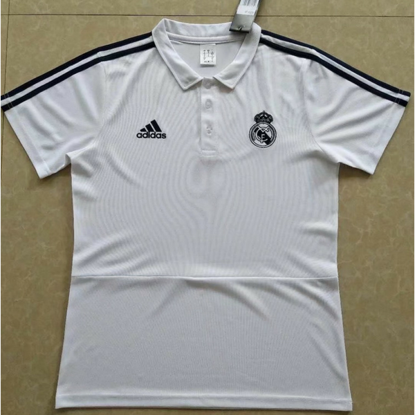Real Madrid polo white 2 201819