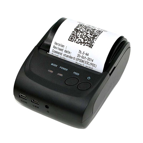 Mini Impresora Térmica Portátil Bluetooth, Inalámbrica Tickets Recibos POS PDV 58mm Redlemon 2020