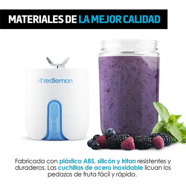 Portable Blender with Rechargeable Battery (480 ml) - Ecart
