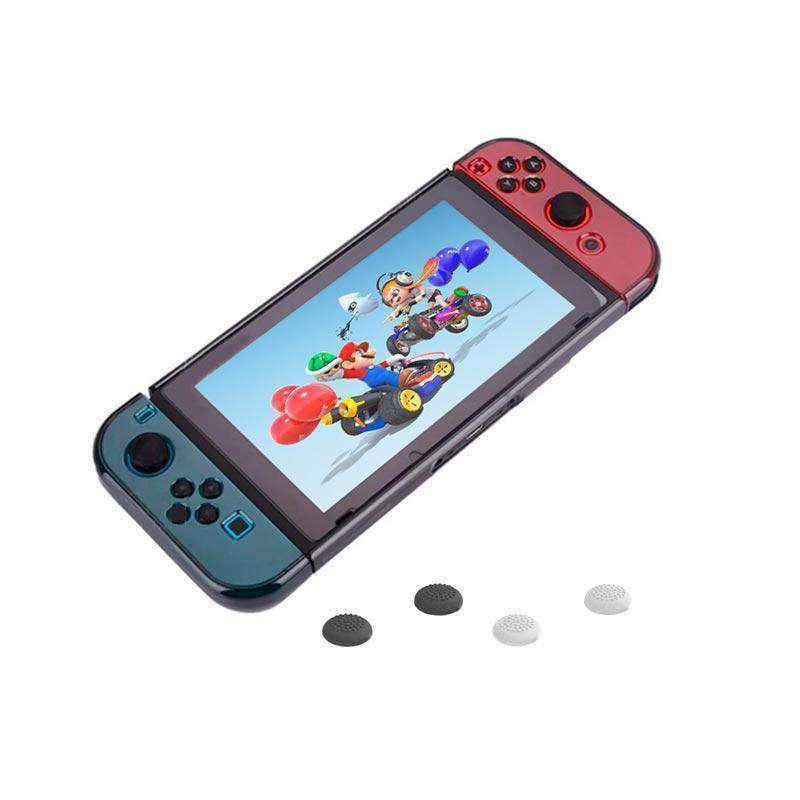 Funda Protector para Nintendo Switch y Joy-Con, de Policarbonato Color Humo