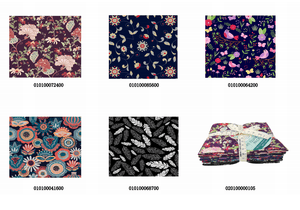 "Angie Wood Creations 5 pcs/lot 16"" x 19"" FLORAL Fabric Cotton Fabric twill Patchwork Quilting Patchwork Fabric Textile Sewing Crafting Fat Quarter Bundles"
