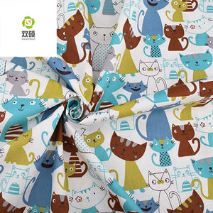 "Angie Wood Creations Handmade Mask&3mmElastic 8 pcs/lot 16"" x 19"" Printed KIDS Animal Cotton Fabric twill Patchwork Quilting Patchwork Fabric Animal Sewing CraftingFat Quarter Bundles"