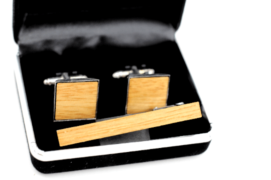 Angie Wood Creations wood cufflink Angie Wood Creations Cufflinks Maple wood ,engrave cufflinks,Wood cufflinks (clmaho04)