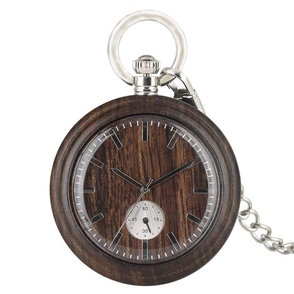 Angie Wood Creations Angie Wood Creations Pocket watch, Groomsman gift, Engraved Pocket Watch.