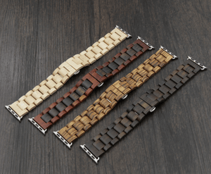 Angie Wood Creations Wooden bracelet apple Apple watch wood bracelet, I watch wooden bracelet,I watch band,Bracelet i watch,Apple watch