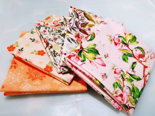 "Angie Wood Creations COTTON 40 Copy of 5 pcs/lot 16"" x 19"" FLORAL Fabric Cotton Fabric twill Patchwork Quilting Patchwork Fabric Textile Sewing Crafting Fat Quarter Bundles"