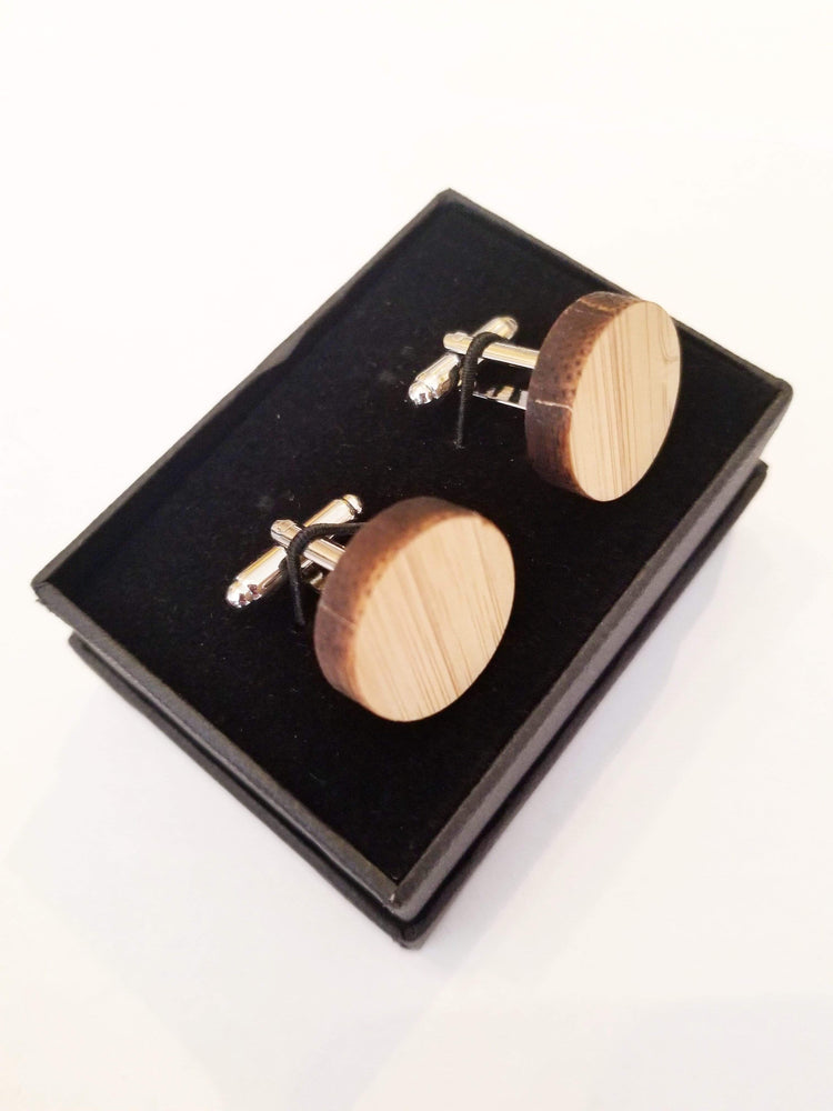 Angie Wood Creations wood cufflink Heart cufflink Angie Wood Creations Cufflinks Maple wood ,engrave cufflinks,Wood cufflinks (cl27-30)