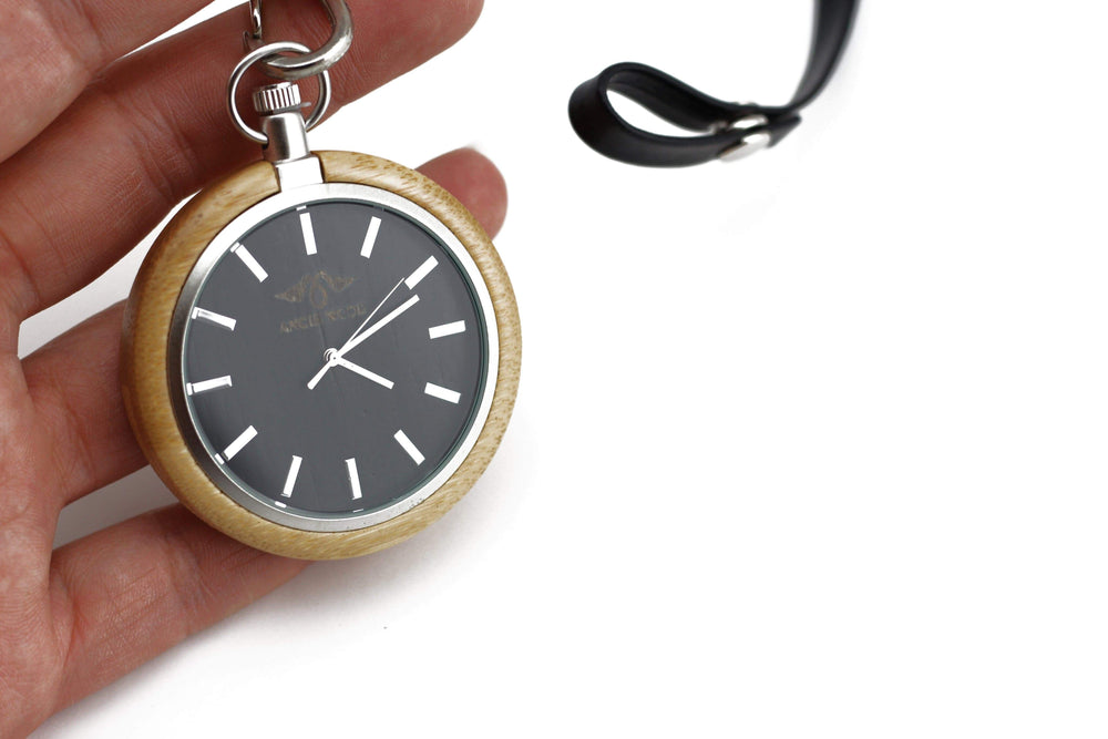 Custom Pocket Watch, Engraved Personalized Gift For Men(P003)