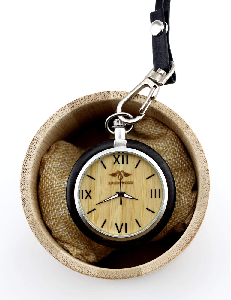 Custom Pocket Watch, Engraved Personalized Mens Watch (P004)