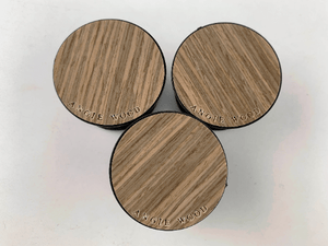 Angie Wood Creations Walnut / Engrave Dark Brown Wood Grain - Bamboo Popsockets,Phone stand,Cell phone holder,PopSockets Smartphone & Tablet Grip Stand,Phone stands,Pop Socket