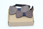 100% Natural Eco-friendly FAMILY & KIDS Handmade Wooden Bow Tie