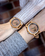 Angie Wood Cork Wood Watch,Personalized watch,Cork watch W158