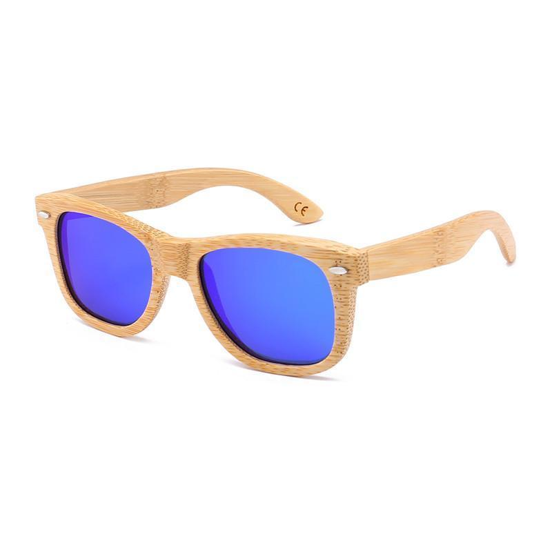 Trendy Polarized Bamboo/wood sunglasses,Wooden Sunglasses (Box bamboo Included)
