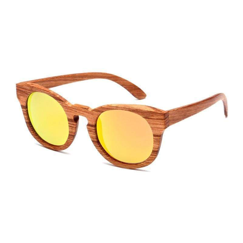 Angiewoodcreations Polarized wood Sunglasses Blue Trendy Polarized Bamboo/wood sunglasses,Wooden Sunglasses