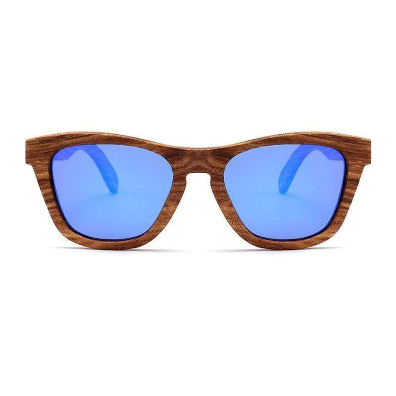 Trendy Polarized zebrawood sunglasses,Wooden Sunglasses
