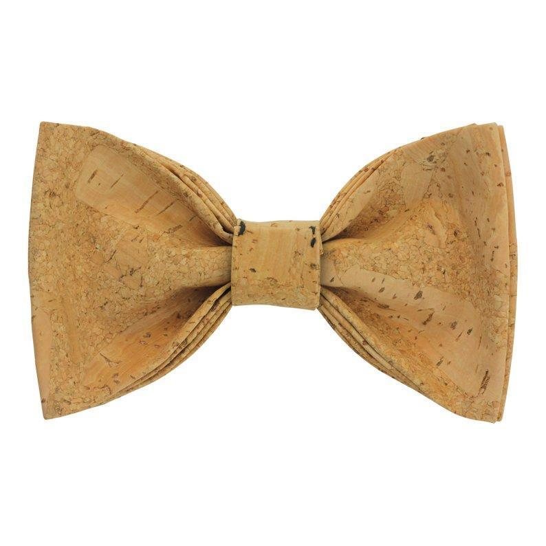 Angiewoodcreations Wooden bow tie Cork Bowtie Angie 10