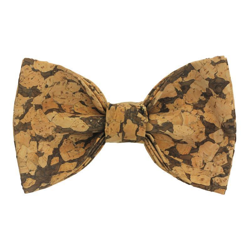 Angiewoodcreations Wooden bow tie Cork Bowtie Angie 2