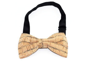 Angiewoodcreations Wooden bow tie Cork Bowtie Angie 4