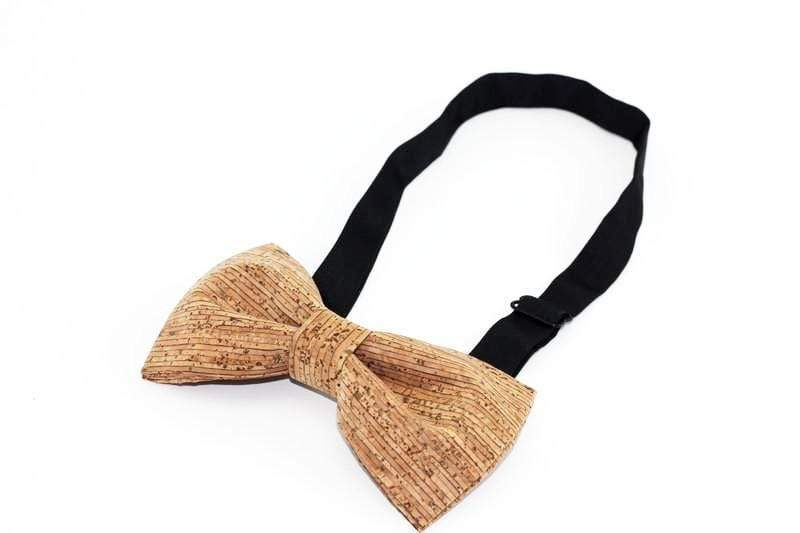 Angiewoodcreations Wooden bow tie Cork Bowtie Angie 7