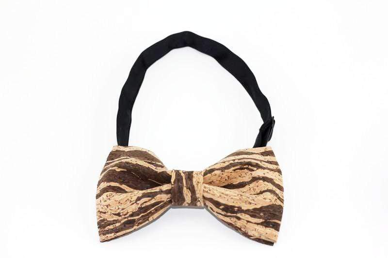 Angiewoodcreations Wooden bow tie Cork Bowtie Angie 9