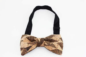 Angiewoodcreations Wooden bow tie Cork Bowtie Angie B0307