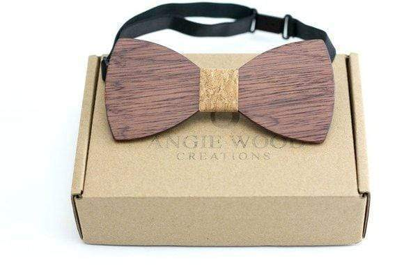 CORK KIDS Bow Tie 100% Natural Eco-friendly Handmade Wooden