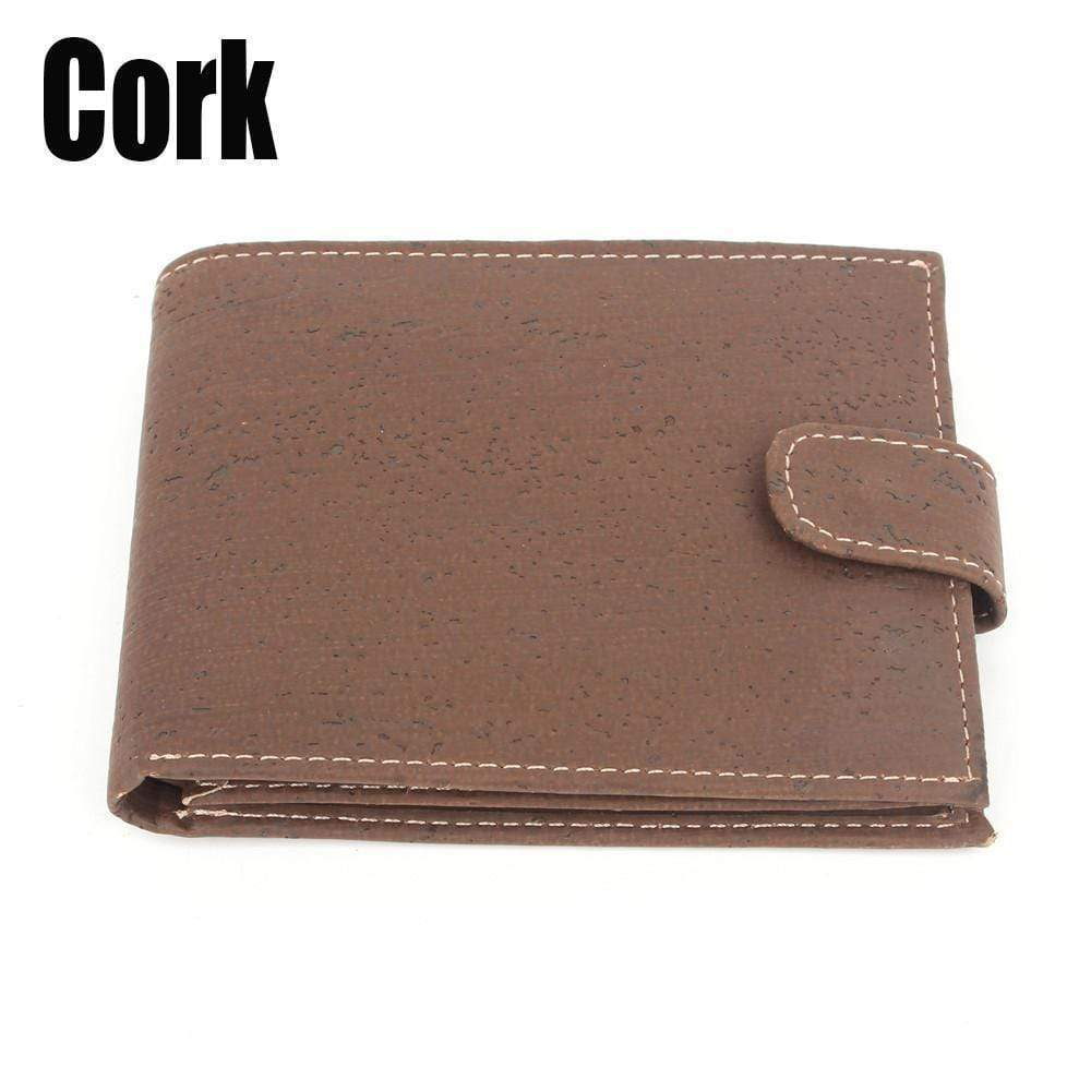 Cork Men Wallet Angie Wood Creations