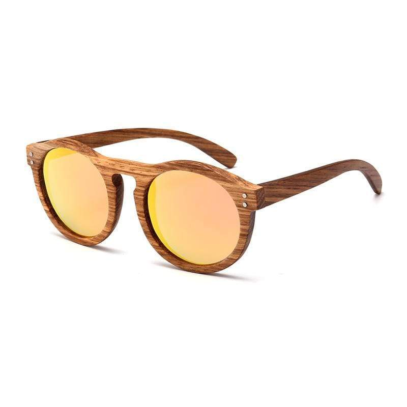 Angiewoodcreations Polarized wood Sunglasses Gold Trendy Polarized Bamboo/wood sunglasses,Wooden Sunglasses