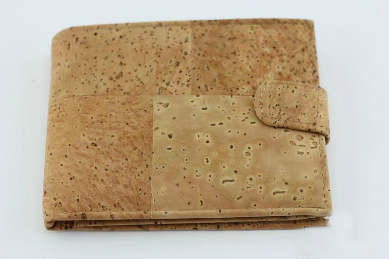 angiewoodcreations Cork Bag/ Wood bag/Wallet Men Wallet Angie 1