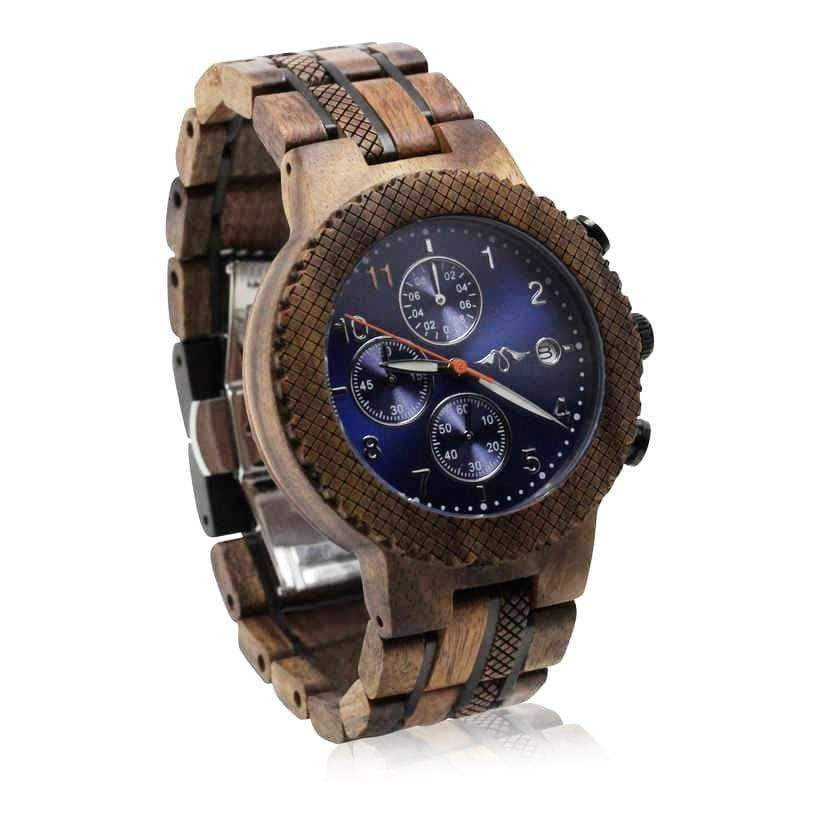 angiewoodcreations Wood watch Not engraved Angie Wood Creations Koa wood and Stainless Steel Men's Watch